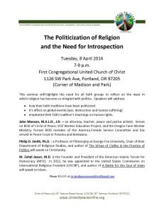 2014 Seminar Flyer -