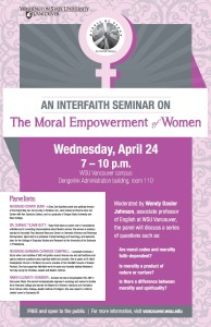 FINAL Moral Empowerment of Women Poster